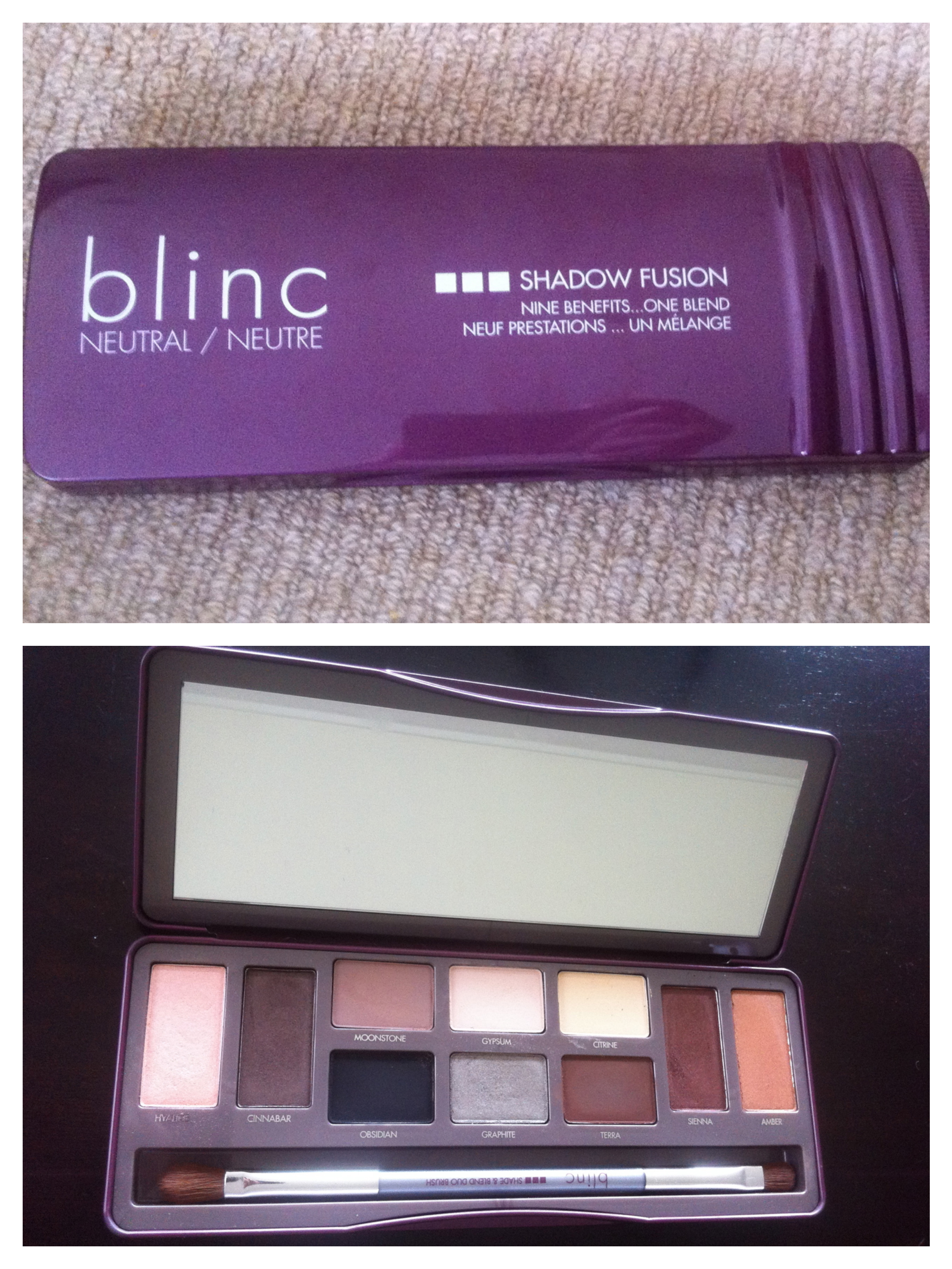 Blinc Shadow Fusion Swatch and Review!